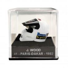 Mini casque Michel Vaillant - J. Wood 41