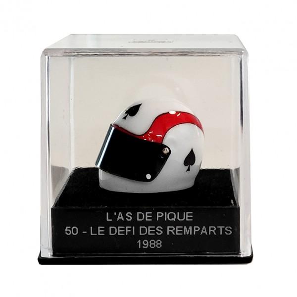 Mini helmet Michel Vaillant L'As de Pique 50