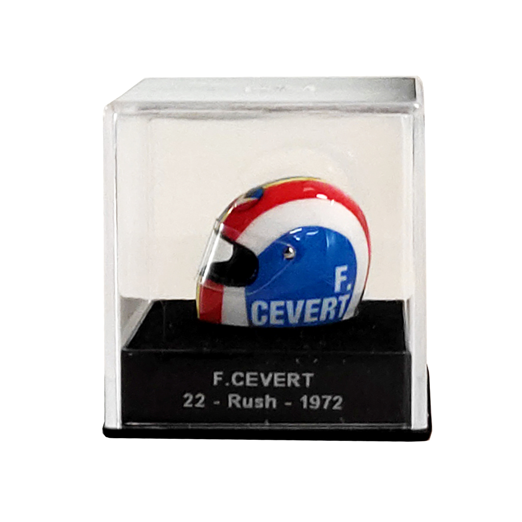 Mini casque Michel Vaillant - F. Cevert 22