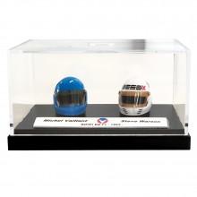 Mini helmet Michel Vaillant M. Vaillant / S. Warson 40