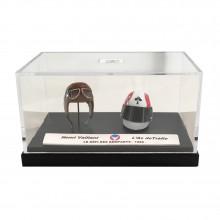 Mini helmet Michel Vaillant H. Vaillant / L'as de Trèfle 50