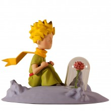 Figurine The Little Prince and the Rose on the Moon by Fariboles