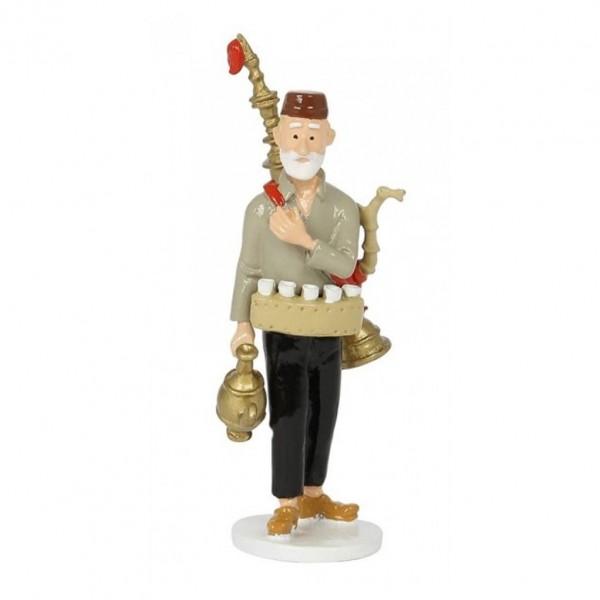 Tintin 1972 greeting card Tea merchant
