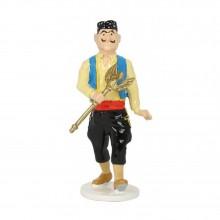 Tintin carte de voeux 1972 - Voleur de sceptre