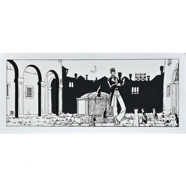Silkscreen print Corto Maltese Theatre
