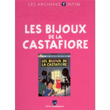 Book Tintin's archives, The Castofiore emerald (french Edition)