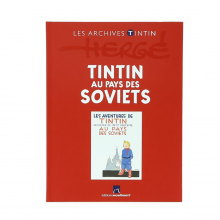 Book Tintin's archives, Tintin in the land of the Soviets (french Edition)