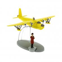 Figurine Tintin et les 7 Boules de Cristal : Hydravion et Nestor