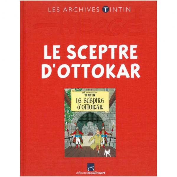 Livre Tintin et le Sceptre d'Ottokar Les Archives Tintin
