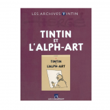 Livre Tintin et l'Alph-Art - Archives Tintin