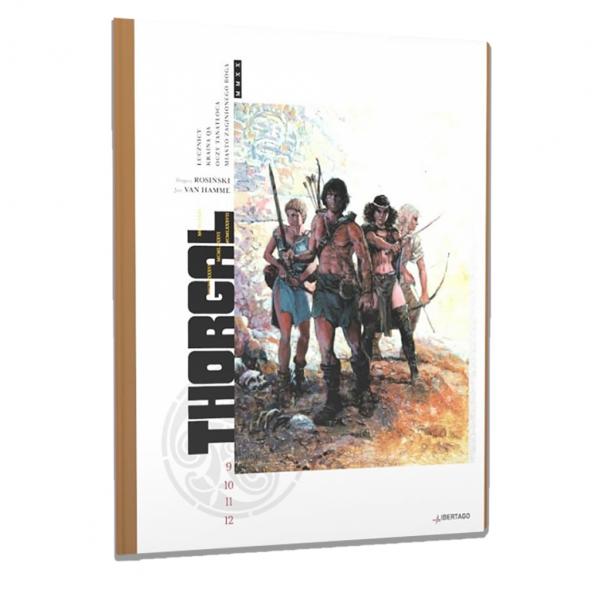 Thorgal Intégrale Libertago Volume 3 Tomes 9 à 12