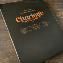 Deluxe album Charlotte Impératrice T2 (french Edition)