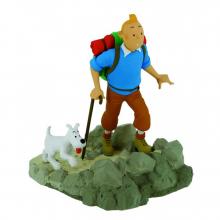 Figurine Tintin hiker