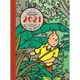Agenda de bureau Tintin 2021