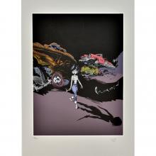 Silkscreen print Les Innommables Cloaques