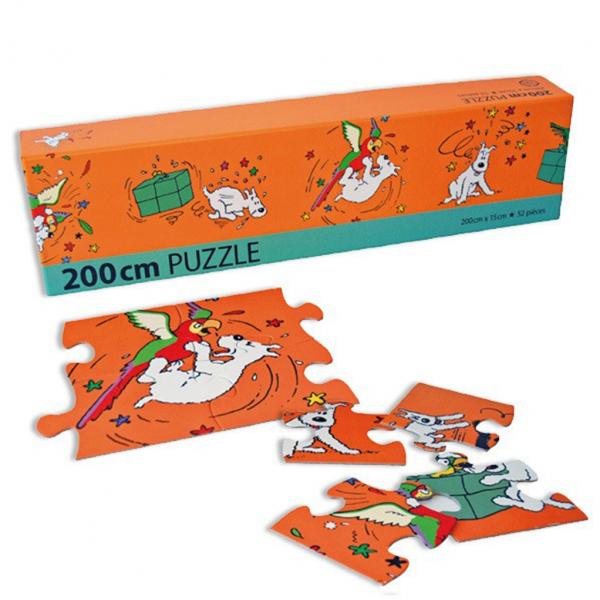 Puzzle Tintin Frise Milou