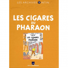 Book Tintin's archives, The Cigars of the Pharaoh (french Edition)