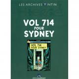 Livre Vol 714 pour Sydney Les Archives Tintin
