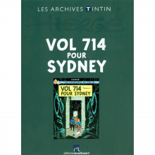 Book Tintin's archives, Flight 714 to Sydney (french Edition)