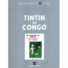 Book Tintin's archives, Tintin in the Congo (french Edition)