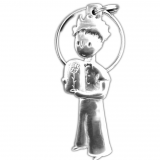 Keyring The Little Prince with his rose
