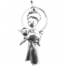 Keyring The Little Prince with his sheep