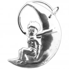 Porte-clés le Petit Prince sur la lune