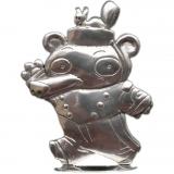 Tin figurine Spirou Bear by Emile Bravo