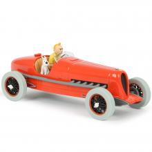 Tintin 1/24 vehicle : cigars of the Pharaoh racing car
