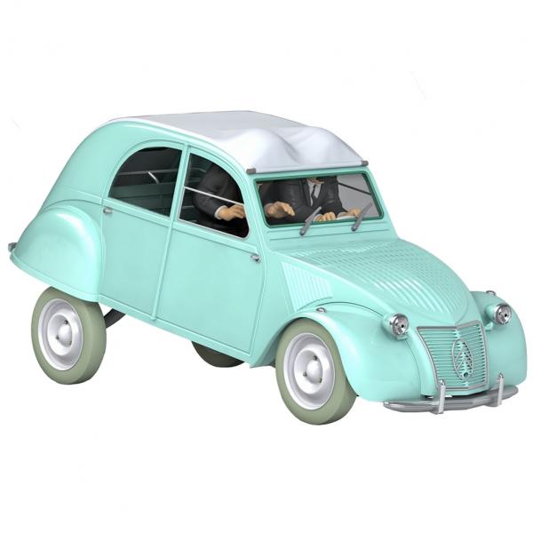 Les véhicules de tintin au 1/24 - La 2CV de l'affaire Tournesol