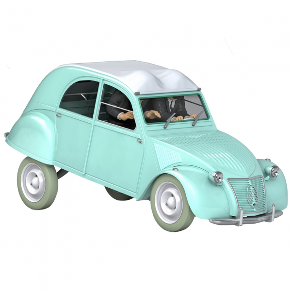 Tintin 1/24 vehicle : The Calculus Affair 2CV