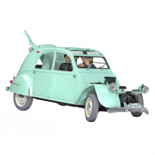 Tintin's cars 1/24 - The 2CV from The Castafiore Emerald