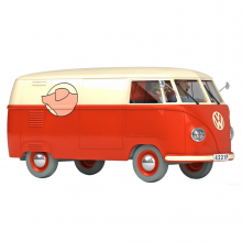 Les Véhicules de Tintin au 1/24 : La camionnette de la boucherie Sanzot