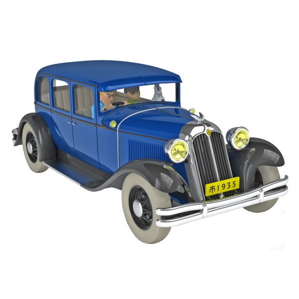 Tintin's cars 1/24 - The Nankin car from The Blue Lotus