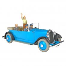 Les véhicules de tintin au 1/24 - La limousine de Tintin en Amérique