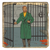 GRAND MARBRE VIEILLI N°146 - LE CRI DU MOLOCH - Mortimer