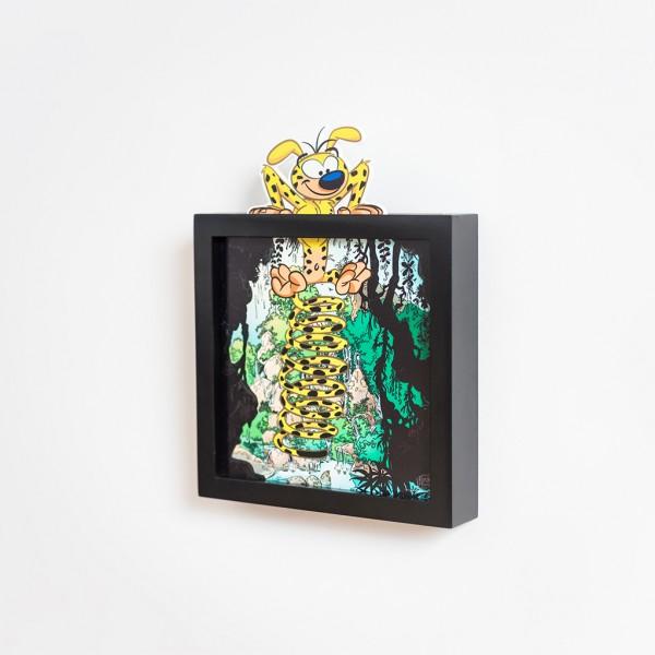 Funky Frames Mini Marsupilami - Échappée Belle - Noir