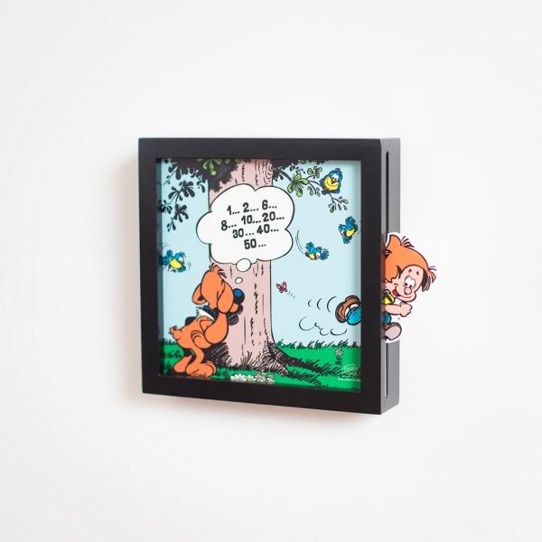Funky Frames mini Boule et Bill - cache-cache - noir