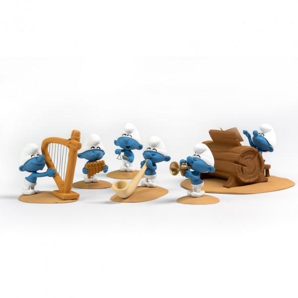 Saynète orchestre des Schtroumpfs - Fariboles - Partie 3