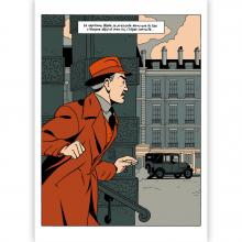 Tirage d'art Blake et Mortimer L'objet convoité - C.Cailleaux