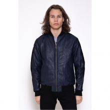 Leather Fast Navy Blue Victory