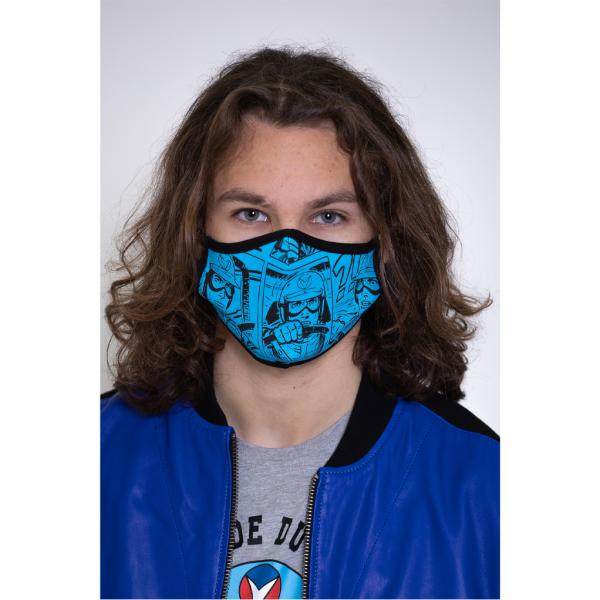 Masque BD bleu