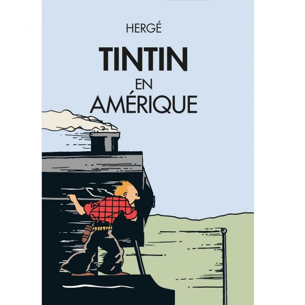 Affiche Tintin, Tintin en Amérique (2020)