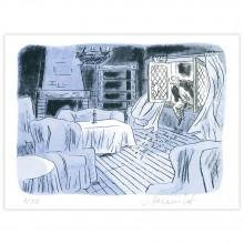 Lithographie La Fiancée du Dr Septimus, Fantômes du Suffolk