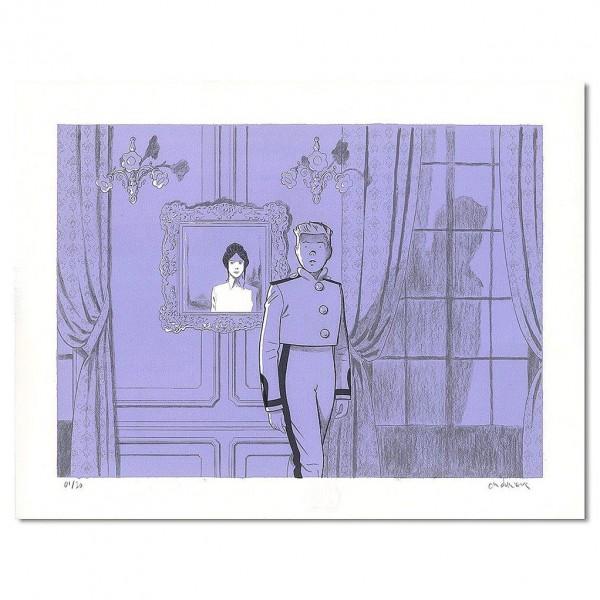 Lithographie Pacific Palace, Le Spirou de Durieux