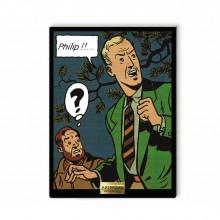 Tableau de collection en bois - Philip !!...