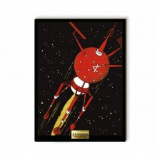 Wooden collection Board - The Admiral Spacecraft
