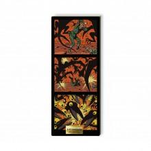 Tableau de collection en bois - Les Ptérodactyles