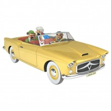 Tintin's cars 1/24 - The Convertible from The Calculus Affair