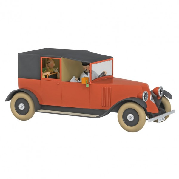 Les véhicules de Tintin au 1/24 - Le taxi rouge du Crabe aux pinces d'or